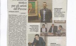 Un archivio storico per gli artisti del Pavese SARÀ UN CENTRO STUDI PER IL TERRITORIO