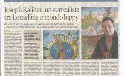 Joseph Kaliher, un surrealista tra Lomellina e mondo hippy